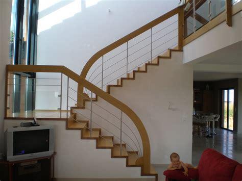 fabricant de re d escalier habillage escalier en bois et garde corps bois inox d 233 part arrondie 26