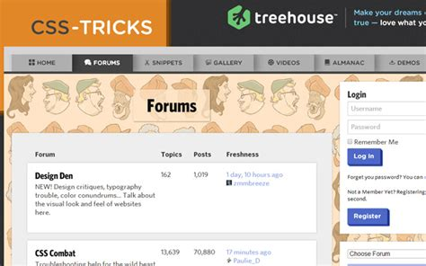 36 Creatively Designed Forums and Bulletin Boards