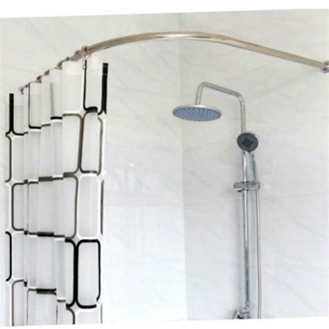 curved shower curtain rod for corner shower curved curtain rod for corner windows curved shower stainless steel curved shower curtain pole rod rail