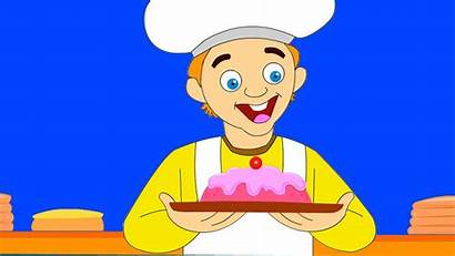 Baker Clipart Cake Pat Nursery Rhymes Songs