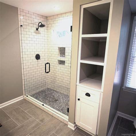 Bathroom Linen Closet Ideas by 69 Bathroom Shower Tile Design Ideas Bathroom