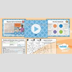 * New * Planit Maths Y6 Position And Direction Lesson Pack