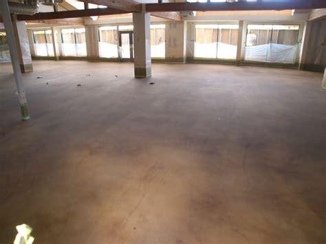 adding color to concrete the steps to installing a decorative concrete floor