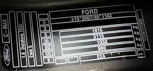 Modele Voiture Plaque : code couleur c max brun palissandre ford c max auto evasion forum auto ~ Medecine-chirurgie-esthetiques.com Avis de Voitures