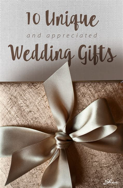 ideas  unique wedding gifts  newlyweds