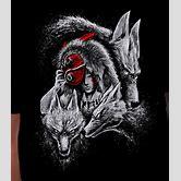 black-and-white-demon-wolf