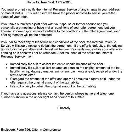 acceptance processing internal revenue service