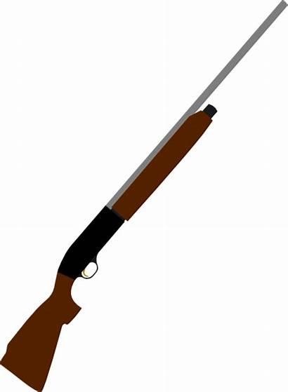 Gun Clip Clipart Shoot Shotgun Shooting Rifle