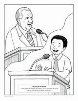 Coloring Joseph Prison Jail Pages Printable Conference General Lds Getcolorings Getdrawings Ayearoffhe sketch template