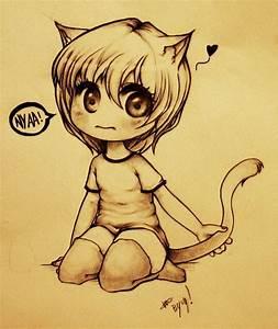 Cat Anime Girl Chibi | www.imgkid.com - The Image Kid Has It!