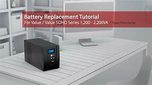 Cyberpower Battery Replacement Tutorial For Value  Value