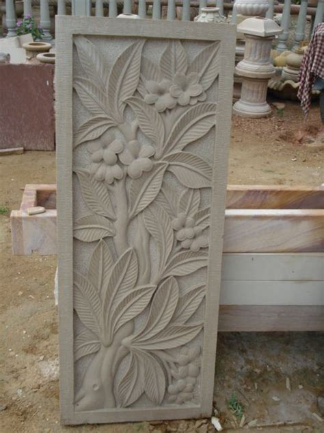 stone carvings clay wall art stone carving plaster art