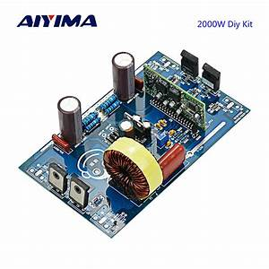 Aiyima Updates 2000w Pure Sine Wave Inverter Power Board