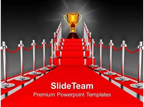 red carpet award ceremony powerpoint templates