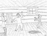 Pioneer Coloring Pages Pioneers Boy Robin Jig Dobson Dancing Thomas Handcart sketch template