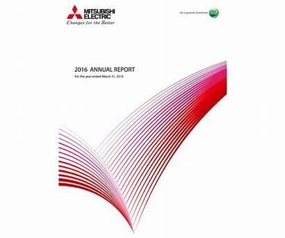 Report Annual Investors Library Mitsubishi Electric Mitsubishielectric