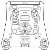 Polaris Rzr Template Vector Coloring Sketch sketch template