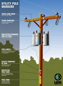 Utility Poles Carry Electrical Power As Well As