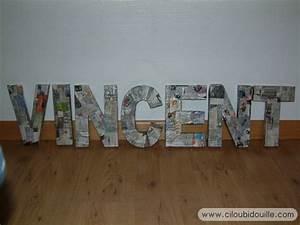 Lettre Decorative Cuisine : lettres d coratives ciloubidouille ~ Teatrodelosmanantiales.com Idées de Décoration