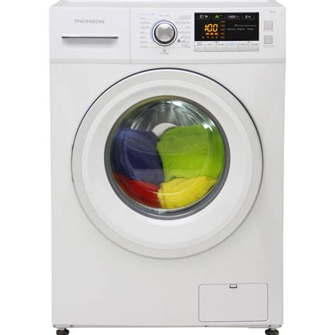 test thomson darty tw814 lave linge ufc que choisir