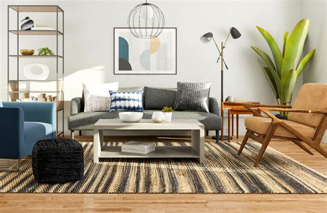 Modern Living Room Design 5 Ways to Try a Mid Century Style