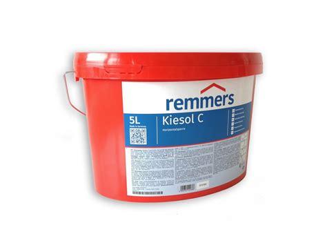 www remmers de remmers kiesol c injektionscreme wand abdichtung 5 liter