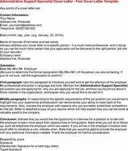 Best photos of letter of interest administrative for Administration support officer cover letter