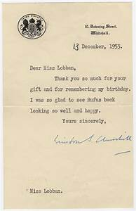 winston churchill autographed letters about his dog rufus With churchill letters