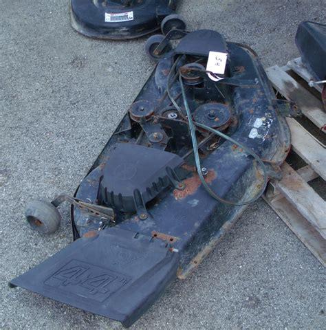 used mower deck for craftsman craftsman lawnmower mowing deck mower 44 quot 917250770 quills
