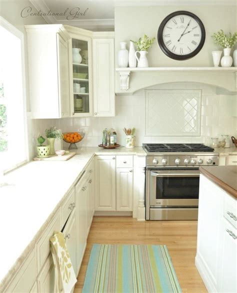 spring touches kitchen faqs centsational style