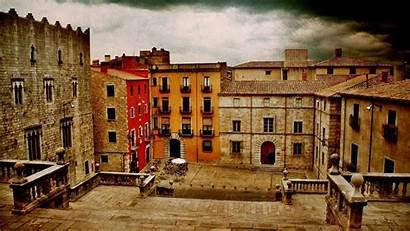 Spain Girona Town Landscape Wallpapers 10wallpaper