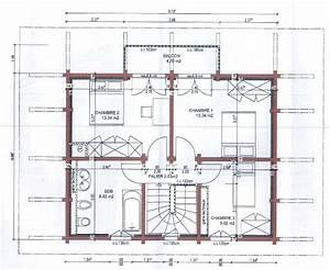 plan maison a etage 100m2 bricolage maison With plan maison a etage 100m2