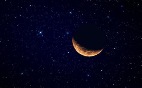 Hd Moon Wallpaper by Crescent Moon Hd Wallpaper Pixelstalk Net