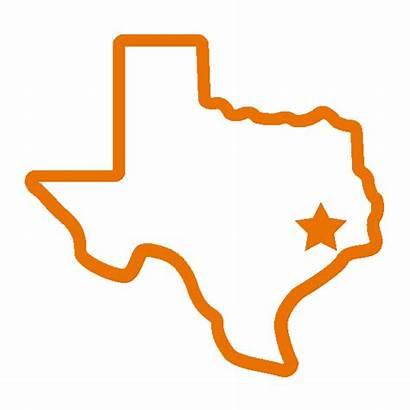 Texas State Silhouette Clip Transparent Clipart Houston