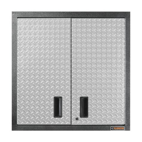 metal wall storage cabinets gladiator premier series pre assembled 30 in h x 30 in w