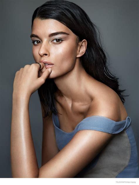 Crystal Renn Models Minimal Glam Style for Alex Cayley in