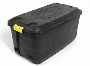Kunstoffbox Mit Deckel : xxl transportbox lagerbox rollbox kissenbox gartenbox werkzeugbox kiste 145 ltr ebay ~ Eleganceandgraceweddings.com Haus und Dekorationen