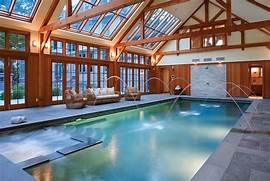 Indoor Swimming Pool Indoor Swimming Pool Design Indoor Swimming Pool Small Indoor Pool Designs Pool Design Ideas Indoor Swimming Pool Designs Home Designing Small Indoor Swimming Pool Design In Small House With Swing OLPOS