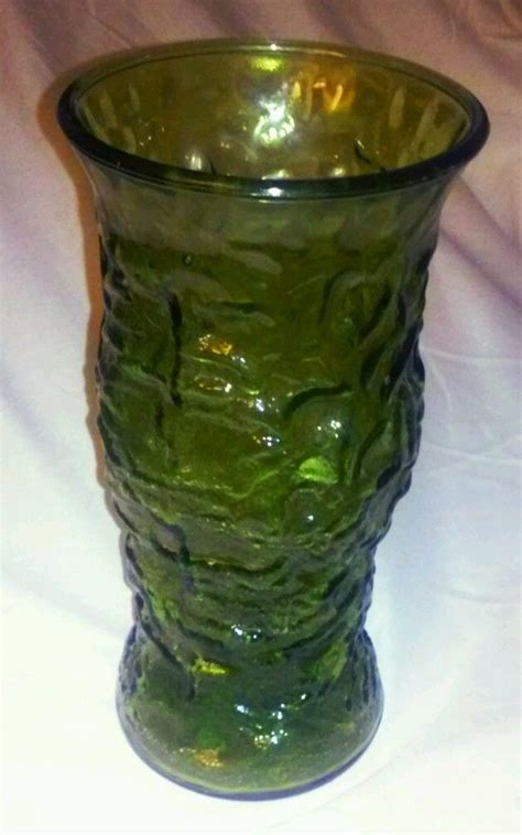 Vase Company by Euc E O Brody Co Green Glass Vase For Sale Item 1443659