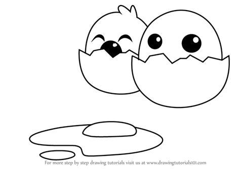 learn   draw funny cartoon egg cartoons  kids
