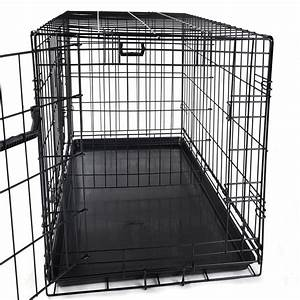 24quot 30quot 42quot 48quot pet kennel cat dog folding crate wire With 48 dog crate with divider