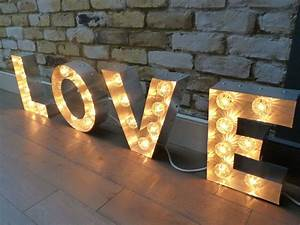 the vintage chandelier companyletter lightbox and neon With how to make light letters