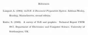 Mla Format Works Cited Template Bibtex How To Produce A Document With Only Few