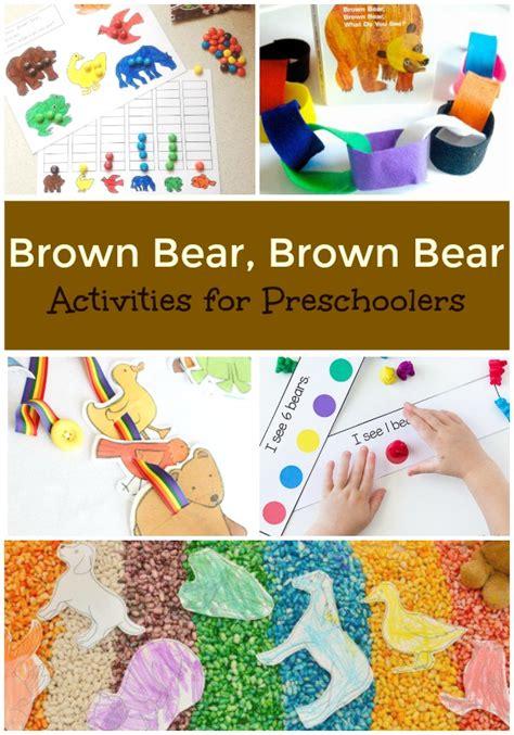 brown brown activities for preschoolers 183 | BB pinterest collage
