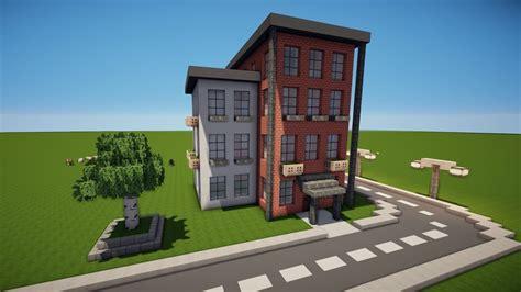 Minecraft Stadtapartment Haus Bauen Tutorial [haus 94