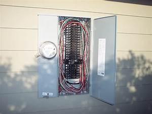 200 Amp    42 Circuit Recessed Main Panel Upgrade