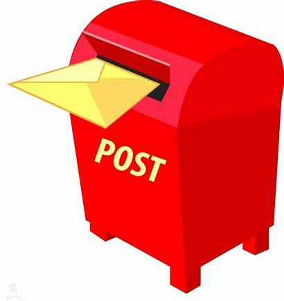Mailbox Mail Office Letter Clipart Transparent Postbox