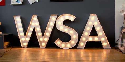 big light up letters illuminated signs light up letters large marquee letters