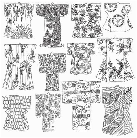 japanese coloring book coloring pages coloring books
