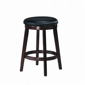 Porter Swivel Stool - Home Envy Furnishings: Solid Wood